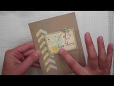 ▶ Stampin' Up!'s Chevron Border Punch Tutorial - YouTube