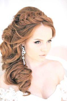 Lange Haare Halboffen Excellent Bilder With Lange Haare Halboffen