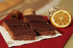 Lebkuchen vom Blech - Martina Lechner - My Ideas Vegan Desserts, Dessert Recipes, German Baking, Torte Recipe, Getting Hungry, Xmas Cookies, Xmas Food, Pumpkin Spice Cupcakes, Winter Food