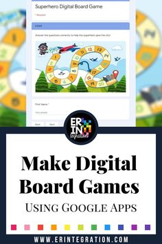 Digital Board Games on Google Forms and Google Slides Erintegration PIN (1) Spelling Word Practice, Spelling Games, Spelling Words, Digital Board, Call And Response, Math Manipulatives, Math Questions, Free Math, Math Facts