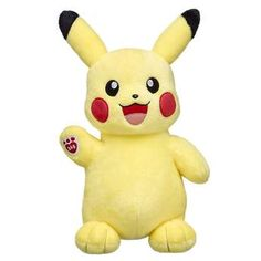 Add Pikachu to your Poké This Electric-type Pokémon has bright yellow fur and a lightning bolt-shaped tail. This adorable furry friend is one of the most famous Pokémon ever and a must-have for any Poké