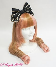 Cuteブレードカチューシャ  3,564 yen / $35  5 colors available