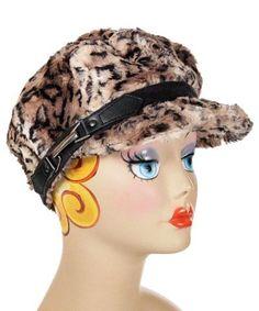 cc5a993776a79d Valerie Cap Style - Luxury Faux Fur in Carpathian Lynx - Medium / Hat Only  -. Pandemonium Millinery