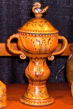 Greg Shooner, redware pottery