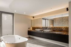 CO – Schellen Architecten Villa, Bathtub, Bathroom, House, Summer, Germany, Houses, Architecture, Standing Bath