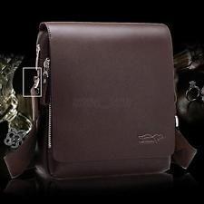 Genuine Leather Handbag Men's Shoulder Bag Messenger Case Cover Laptop Briefcase