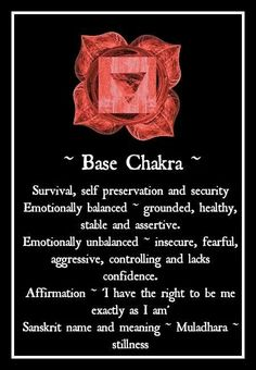 Each one of the seven chakras is a center of a specific kind of energy in the body. Reiki can be used to align the chakras or cleanse them. Chakra Healing, Muladhara Chakra, Chakra Meditation, Kundalini Yoga, Meditation Corner, Spiritual Meditation, Spiritual Path, Qi Gong, Mind Body Spirit