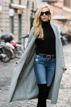 Model-Off-Duty Style: 3 Ways To Wear A Maxi Cardigan | Maxi ...