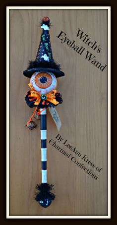Charmed Confections Halloween Wicked Wand  by CharmedConfections, $49.00
