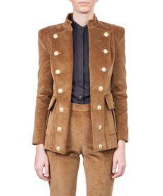 PIERRE BALMAIN Velvet Jacket. #pierrebalmain #cloth #jacket