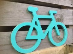 Wooden bicycle decor. Bicycle art or sign ASimplePlaceOnMain, $54.00