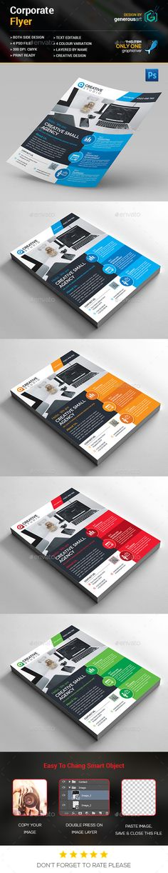 Corporate Flyer Design Template PSD. Download here: http://graphicriver.net/item/corporate-flyer-design/15848020?ref=ksioks
