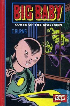 Big Baby by Charles Burns (Raw) Horror Comics, Horror Art, How Big Is Baby, Big Baby, Comic Art, Comic Books, Graphic Novel Art, Retro Illustration, Book Images
