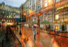 Photo colorful rain .. by Ed Gordeev on 500px