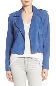 Pam & Gela Suede Moto Jacket available at #Nordstrom