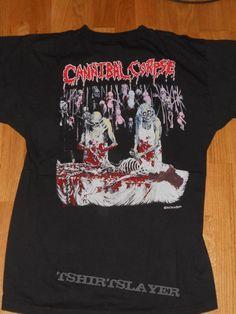 "Cannibal Corpse ""butchered at birth / tour"" shirt"