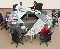 Image result for collaborative seating arrangements