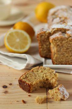 Cake aux noisettes et au citron