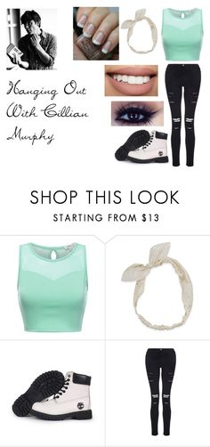 """Hanging Out With Cillian Murphy"" by hey-mate on Polyvore featuring Carole, Timberland, Frame, Bow & Arrow and OPI"