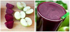 Nápoj z šesti druhů ovoce a zeleniny k očistě jater