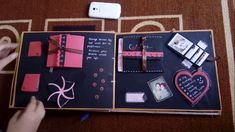 No need to spend a lot of money to express your love for your boyfriend. You can make a scrapbook for your boyfriend. A scrapbook is just like an album filled with memories of you and your boyfriend. Scrapbook For Best Friend, Love Scrapbook, Birthday Scrapbook, Mini Scrapbook Albums, Scrapbook Cards, Scrapbooking Ideas, Picture Scrapbook, How To Make Scrapbook, Scrapbook Supplies