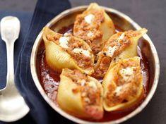 Avec les lectrices reporter de Femme Actuelle, découvrez les recettes de cuisine des internautes : Conchiglionis farcis au thon et au carré frais®