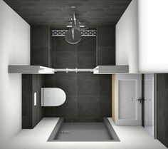 Small bathroom design.