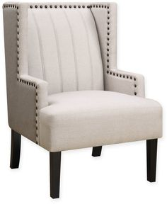 Donny Osmond Accent Chair in Beige