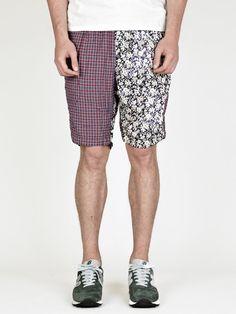 Nonnative Men's Drifter Crazy Pattern Shorts    Bought at: oki-ni