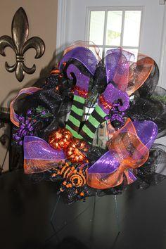 Halloween Witches Wreath