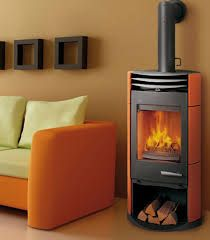 living room wood stove - Google Search