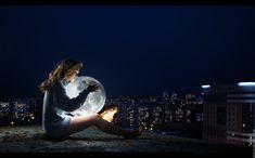 moon girl wallpaper - Buscar con Google