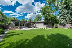 An amazing backyard at 3040 E. Exposition Avenue in the Bonnie Brae neighborhood!  Won't be on the market for long! Contact Trish Bragg or Maggie Armstrong for inquiries.