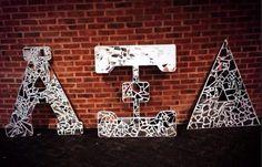 Shattered mirror letters #AlphaXiDelta #AXiD #sorority @Sorority Please