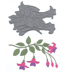 Signature Dies - Fuchsia SD340