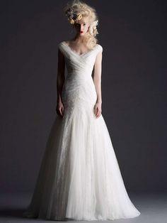 Junebug's Wedding Dress Gallery: Cymbeline Paris Wedding Dresses from the 2014 Bridal Collection | via junebugweddings.com