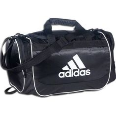 Adidas Lacrosse Duffle Bag - Adidas Defender Duffle Small Black/White
