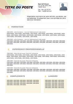 CV Original 015 | Créer un CV
