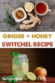 Refreshing Ginger Honey Switchel Recipe Switchel is an easy-to-make and highly nutritious fermented drink made with apple cider vinegar, honey, and molasses. Natural Cold Remedies, Cold Home Remedies, Sleep Remedies, Switchel Recipe, Healthy Drinks, Healthy Recipes, Drink Recipes, Healthy Juices, Detox Recipes