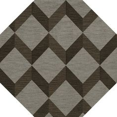 Dalyn Rug Co. Bella Brown/Gray Area Rug Rug Size: Octagon 6'