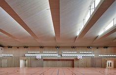 Pajol Sports Centre : ceiling details