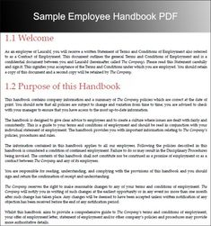 Employee Handbook Template Now Available Career And Life Tips - Basic employee handbook template