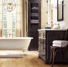 Restoration Hardware:  French Empire Single Vanity Sink