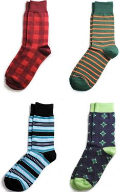 Gifts for Him:  Richer Poorer Men's Socks @ Amazon.  (These are some of their best sellers.)