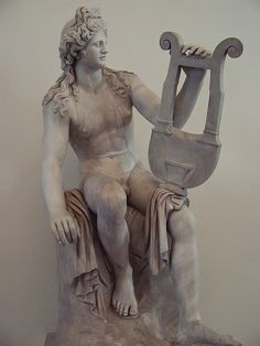 Apollo Kaitharoidos from the late 1st century CE Roman copy of Hellenistic original