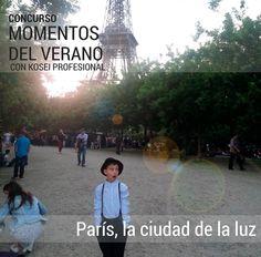 Ganador del Concurso MOMENTOS DEL VERANO con Kosei Profesional: Titulo: París, ciudad de la luz