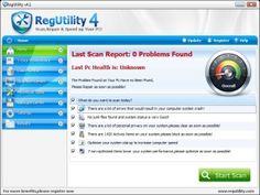 Regutility - Best Registry Cleaner For Windows 7/vista/xp Free Registry scan