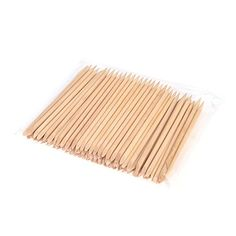 Anself 100pcs Nail Art Design Orange Wood Stick Cuticle Pusher Remover Manicure Care Professional Manicure Tools Accessories -- Click on the image for additional details.