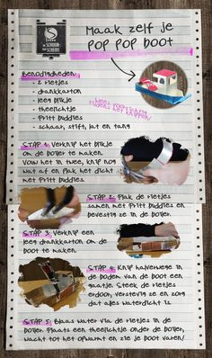 DIY - Pop pop boot • De Schuur van Scheire