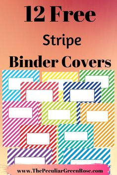 You can use these for back to school budget binder recipe binder meal planning binder life management binder home management binder or family emergency binder. The options are endless! Meal Planning Binder, Planning Budget, Budget Binder, Menu Planning, Printable Binder Covers Free, Binder Cover Templates, Free Printables, Family Emergency Binder, School Planner